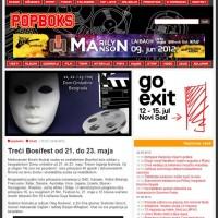 Popboks - Treći Bosifest od 21. do 23. maja